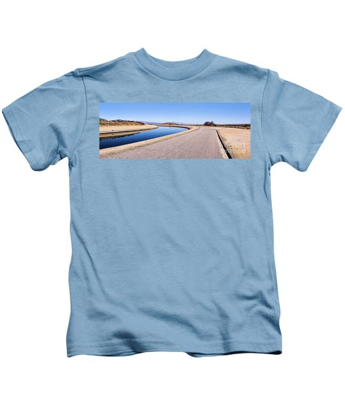 Aqueduct Sharp Turn Kids T-Shirt