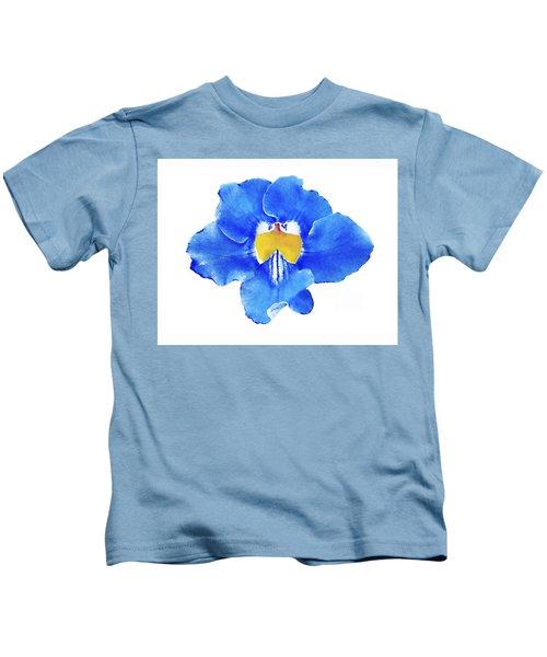 Art Blue Beauty Kids T-Shirt