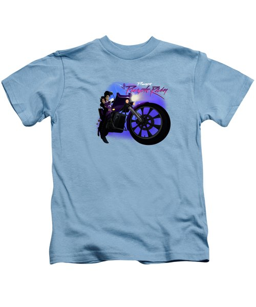 I Grew Up With Purplerain 2 Kids T-Shirt