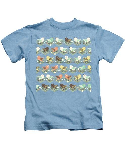 Assorted Birds Pattern Kids T-Shirt