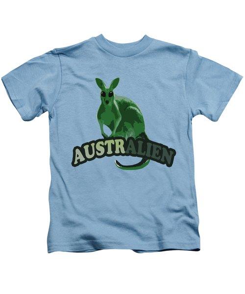 Australian Kids T-Shirt by Voldemaras Lemon