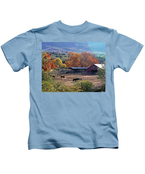 Autumn Ranch Kids T-Shirt