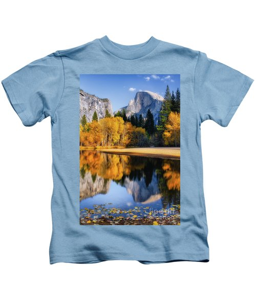 Autumn Reflections Kids T-Shirt