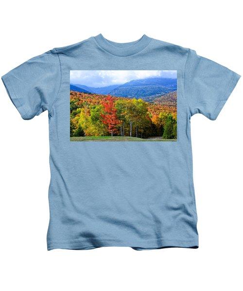 Autumn White Mountains Nh Kids T-Shirt