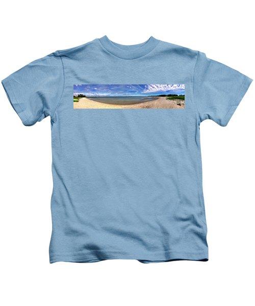 Backwater Bay Pano Kids T-Shirt