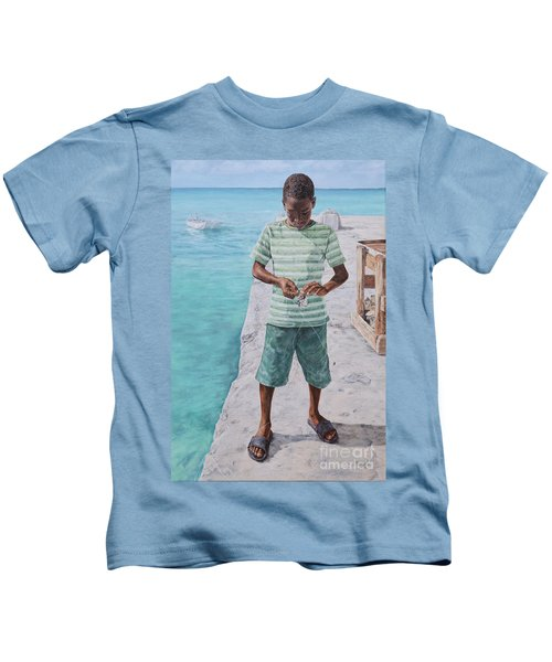 Baiting Up Kids T-Shirt