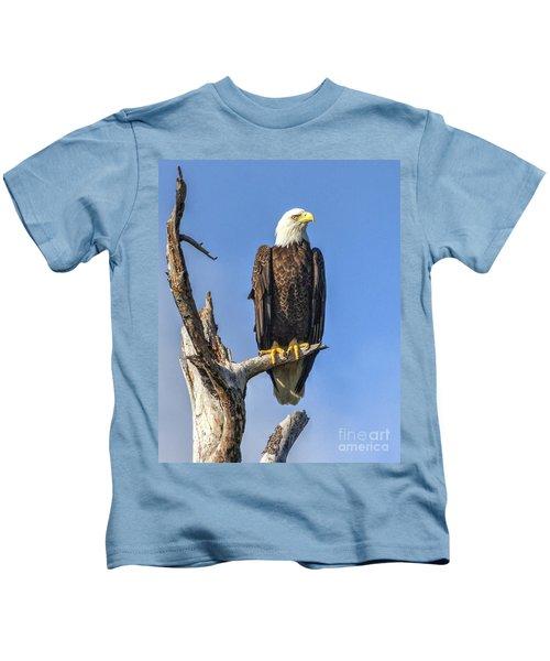 Bald Eagle 6366 Kids T-Shirt