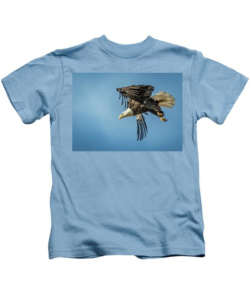 Bald Eagle Flight 1 Kids T-Shirt