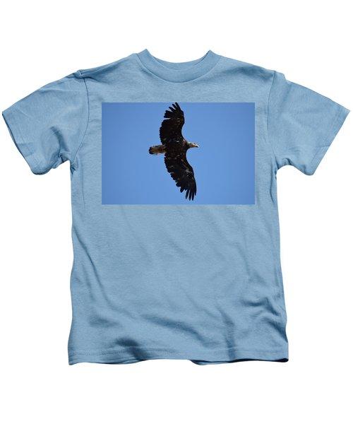 Bald Eagle Juvenile Soaring Kids T-Shirt