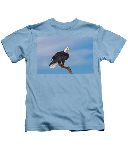 Bald Eagle Majesty Kids T-Shirt