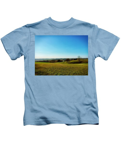 Kids T-Shirt featuring the photograph Baldwin Maryland by Chris Montcalmo
