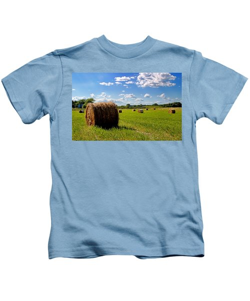 Bales Of Clouds Kids T-Shirt