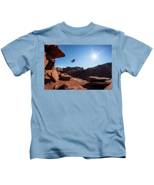 Base Jumper Kids T-Shirt