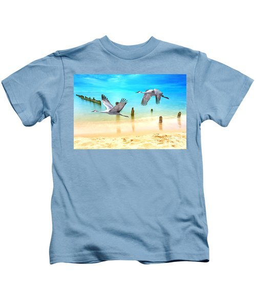 Beach Beauties Kids T-Shirt