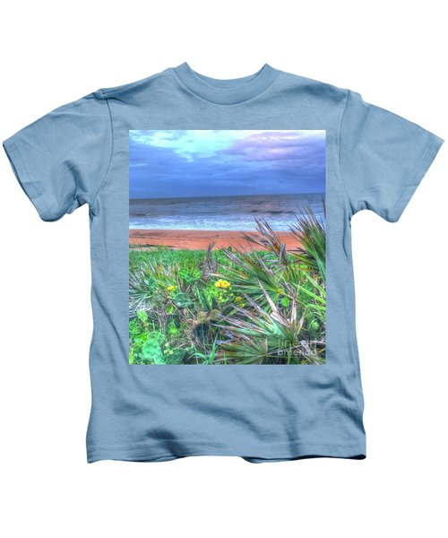 Beach Cactus Kids T-Shirt