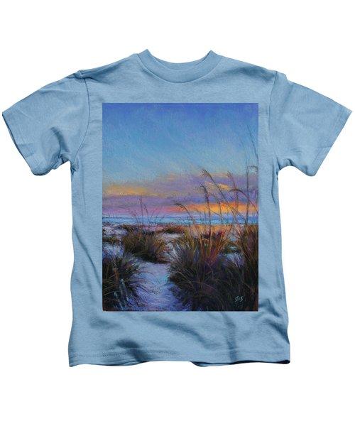 Beach Escape Kids T-Shirt