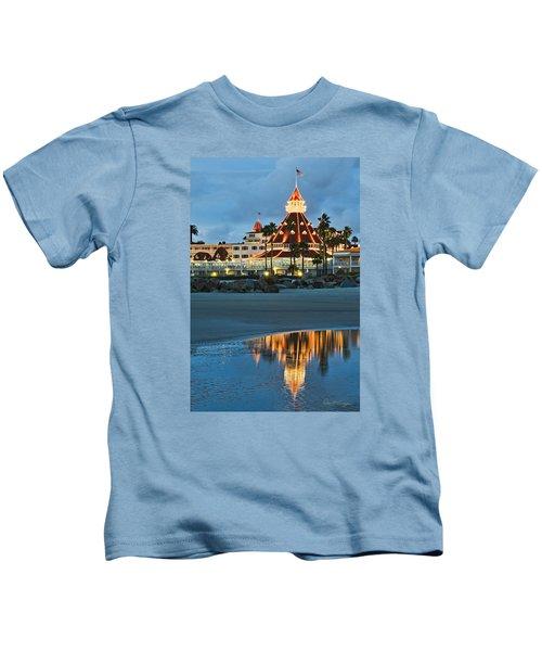 Beach Lights Kids T-Shirt