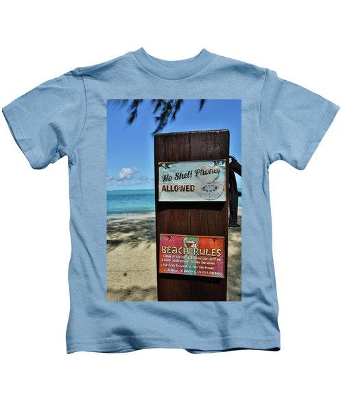 Beach Rules Kids T-Shirt
