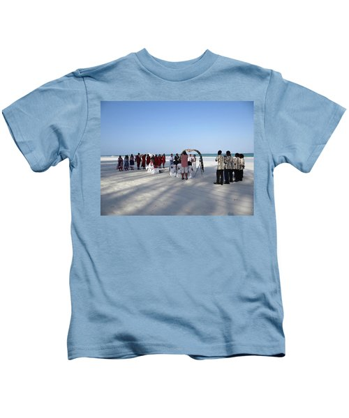 Beach Wedding In Kenya Kids T-Shirt