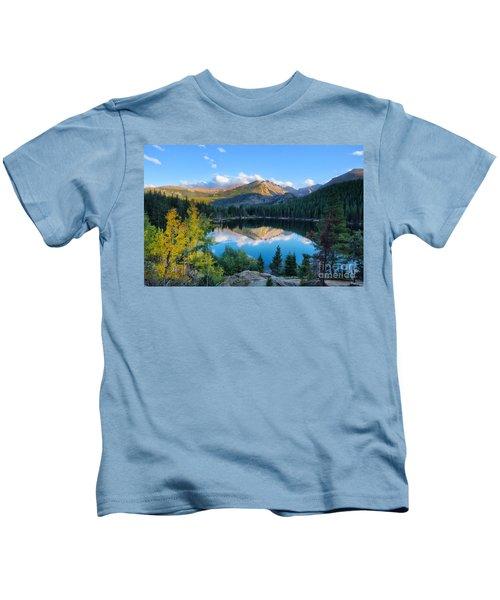 Bear Lake Reflection Kids T-Shirt