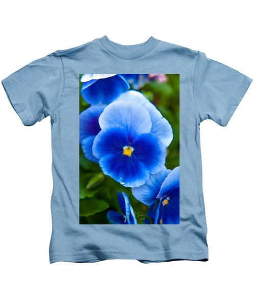 Beautiful Blues Kids T-Shirt