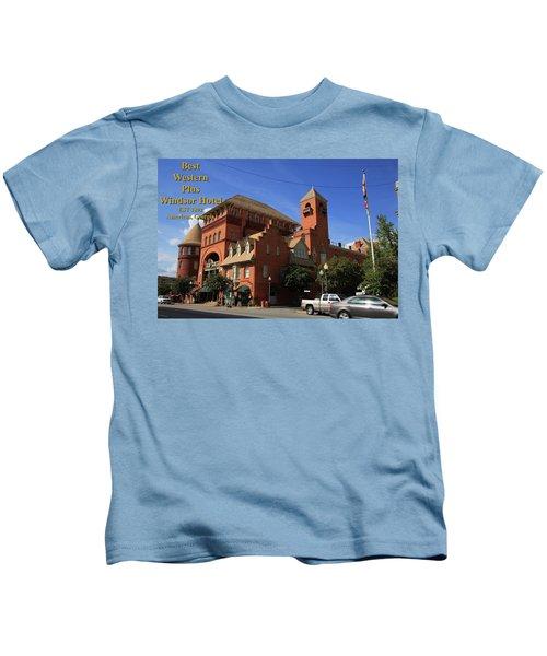Best Western Plus Windsor Hotel -2 Kids T-Shirt