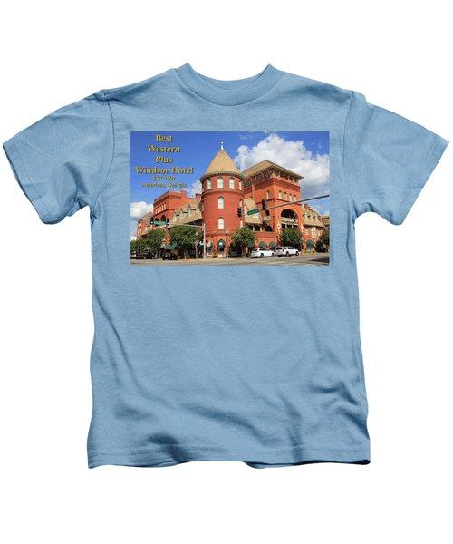 Best Western Plus Windsor Hotel Kids T-Shirt