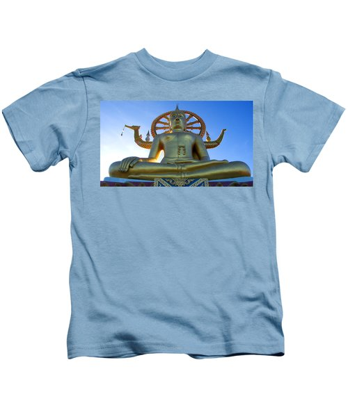 Big Buddha At Koh Samui Kids T-Shirt