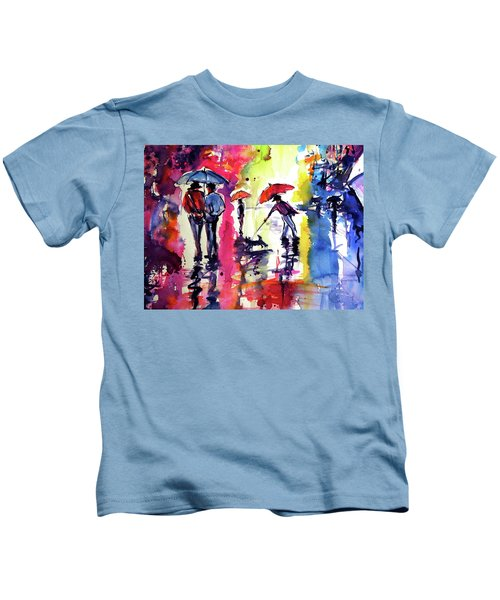 Big Rainy Day Cd Kids T-Shirt