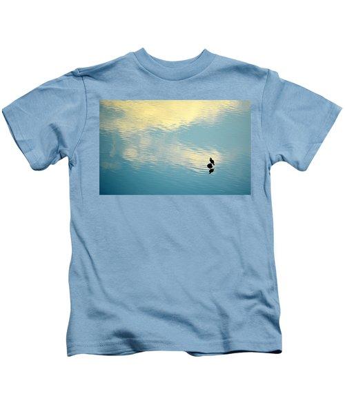 Bird Reflection Kids T-Shirt