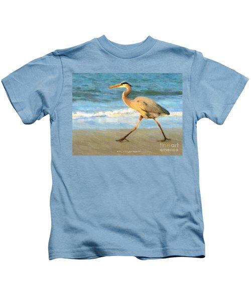 Bird With A Purpose Kids T-Shirt