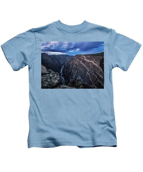 Black Canyon Of The Gunnison National Park Kids T-Shirt
