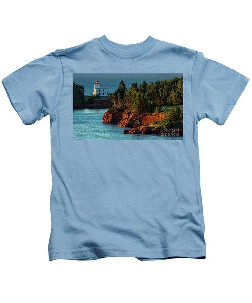 Blockhouse Point Lighthouse Kids T-Shirt