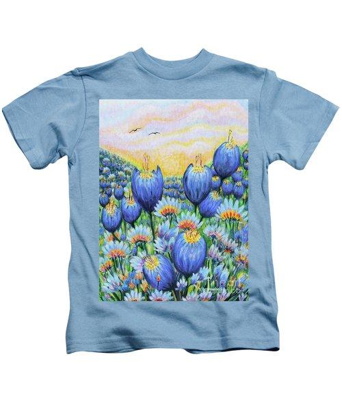 Blue Belles Kids T-Shirt