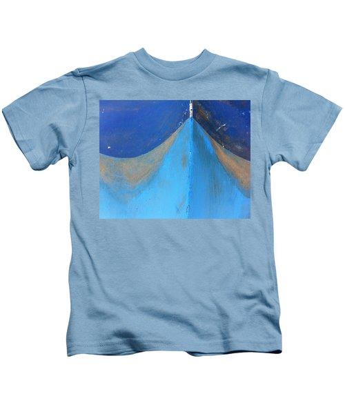 Blue Bow Kids T-Shirt