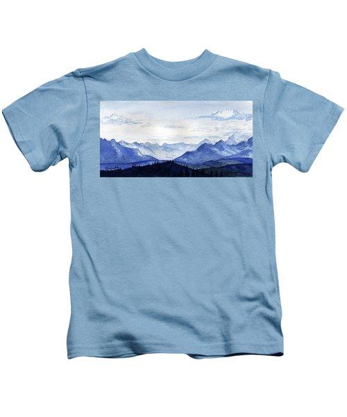 Blue Mountains Kids T-Shirt