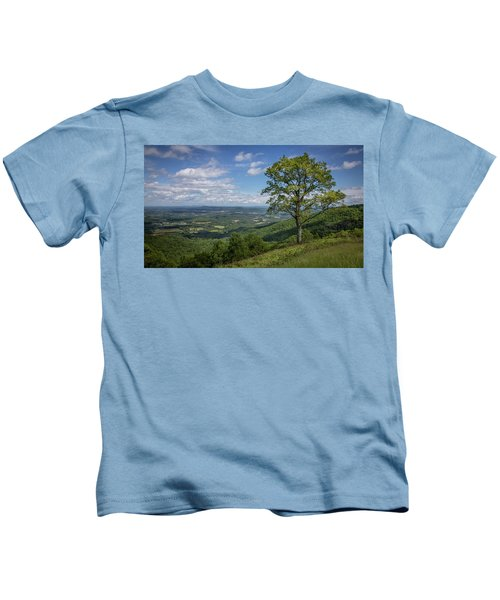 Blue Ridge Parkway Scenic View Kids T-Shirt