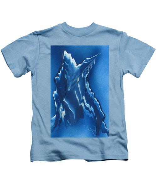 Blue Ridge Space Mountain Kids T-Shirt