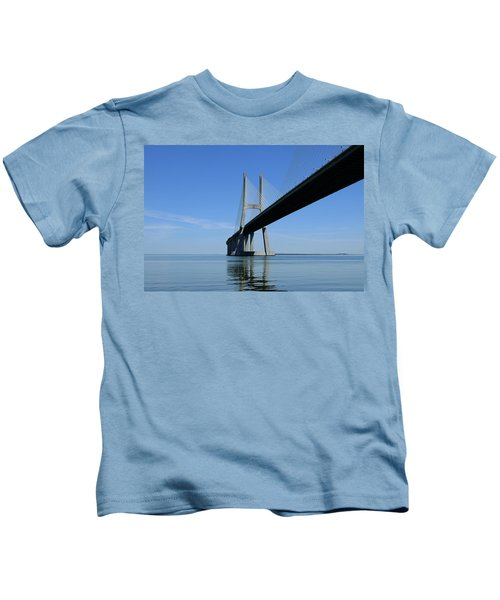 Blue Sunny Day Kids T-Shirt