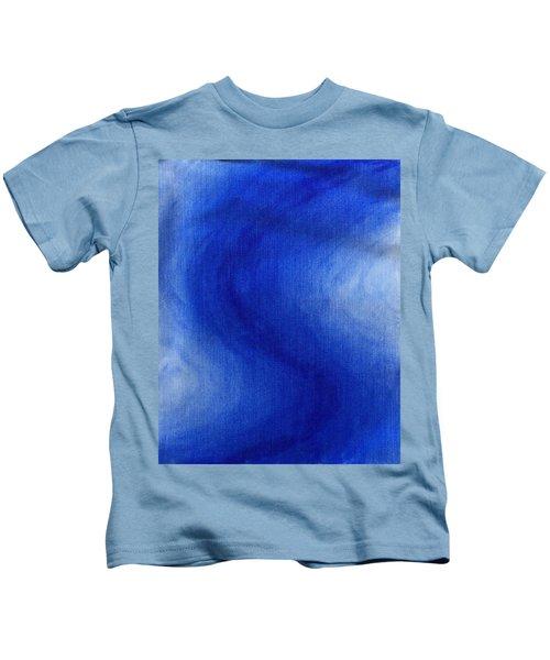 Blue Vibration Kids T-Shirt