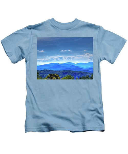 Blue Waves Kids T-Shirt