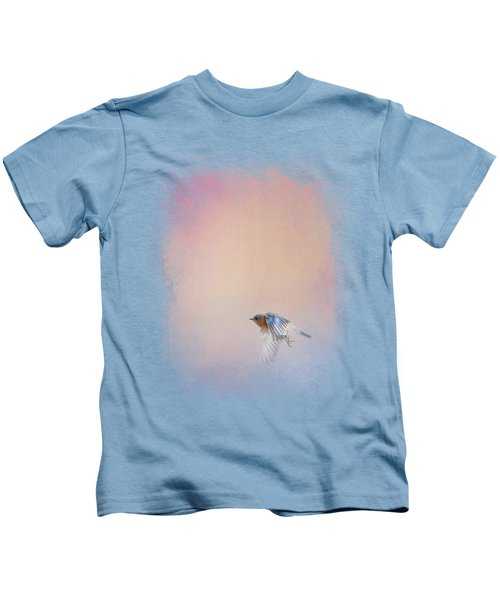Bluebird 1 - I Wish I Could Fly Series Kids T-Shirt