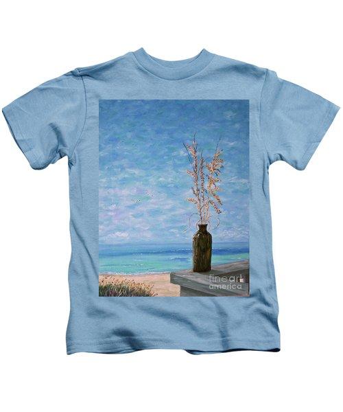 Bottle And Sea Oats Kids T-Shirt