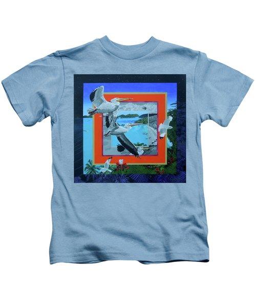 Boundary Series Xvii Kids T-Shirt