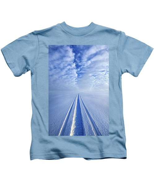 Boundless Infinitude Kids T-Shirt