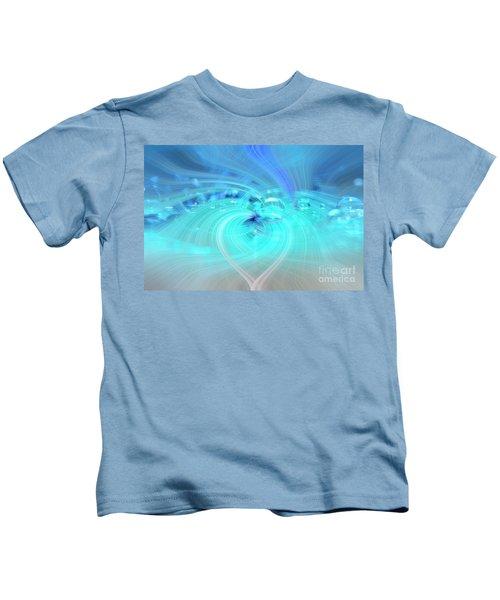 Bubbly Heart Kids T-Shirt