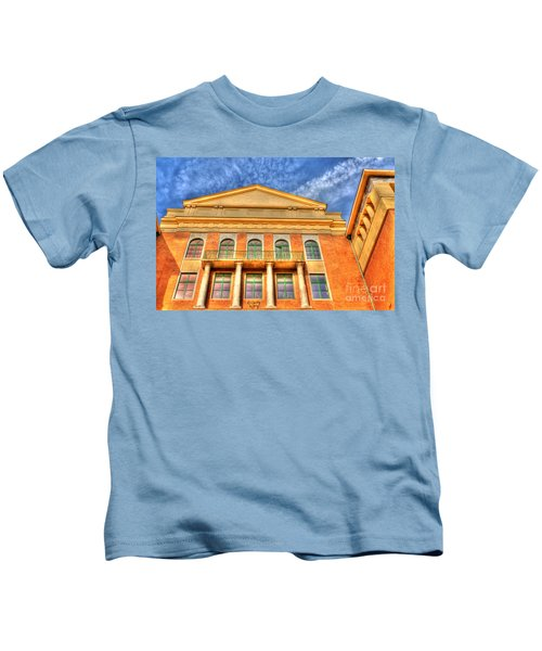 Building In Budapest Kids T-Shirt