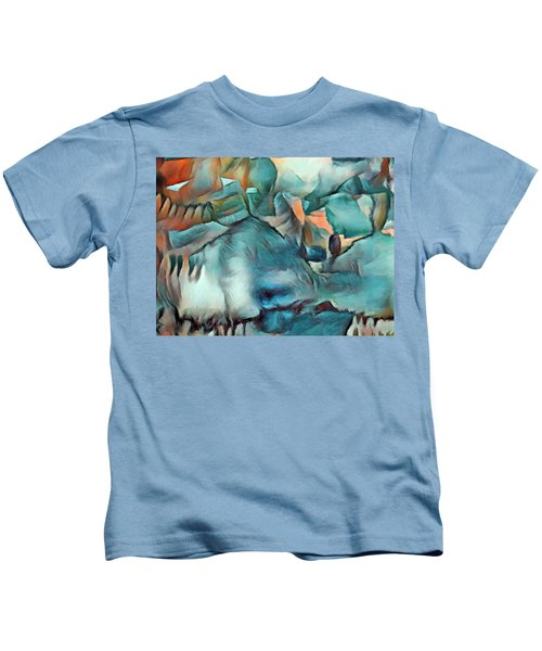 Byzantine Abstraction Kids T-Shirt