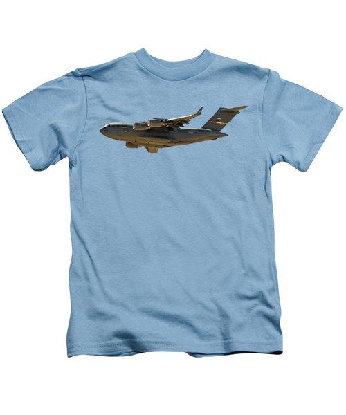 C-17 Globemaster IIi Kids T-Shirt by Mark Myhaver
