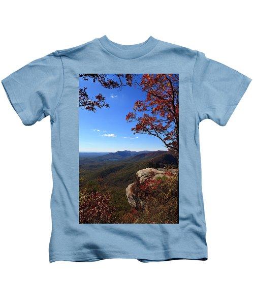Caesars Head State Park In Upstate South Carolina Kids T-Shirt